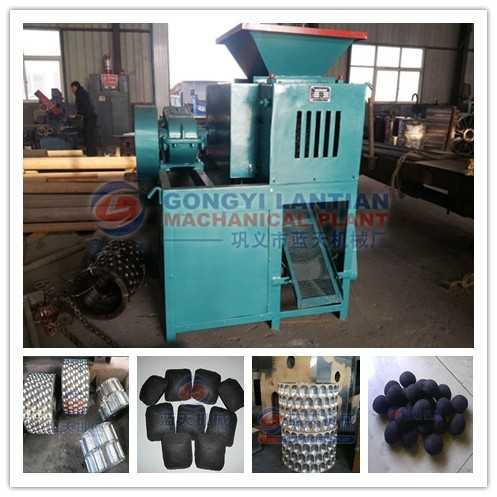 Hot sale new design charcoal briquette making machine maker, small briquetting plant
