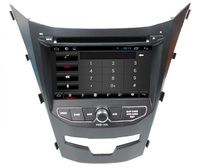 DVD car audio navigation system for Ssangyong Korando 2014 with android 4.4 system