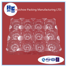 Shenzhen factory customized design blister packaging tray wholesale food clear plastic trays