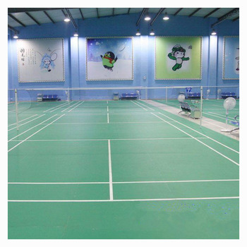 Badminton Flooring PVC Vinyl Flooring Rolls for Sports Court