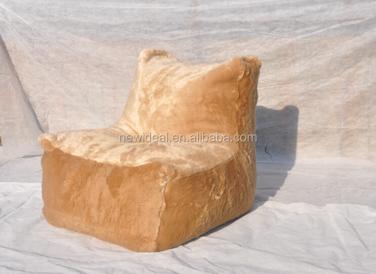 Bean bag/Soft bean bag chair/Faux fur bean bag (NW1339-2)