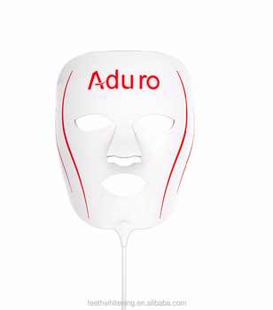 Red light therapy anti aging mask