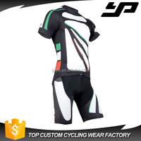 high quality bright cycling wear custom sublimation design your own cycling jersey