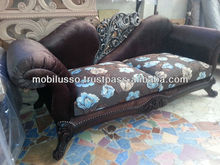 Indoor Furniture - Carved Sofa Sets Upholstered - Italian Classic Sofa