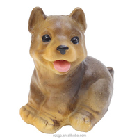 Roogo china supplies resin baby puppy dog ornaments for gifts souvenir