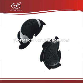 3D Logo double color motorcycle protective knee slider
