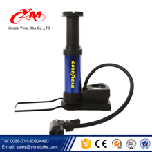 Factory bicycle floor pump , bike co2 pump with high pressure gauge , bike tire pump for A/V AND F/V