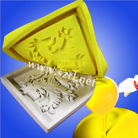 High tear strength molding silicone rubber for replication