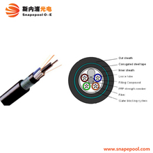 Outdoor Armoured GYTA53 GYTS53 GYXTW53 GYFTY53 Direct Buried Underground Fiber Optic Cable
