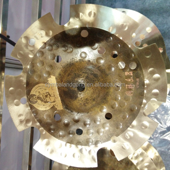 "Effect Cymbals Tongxiang B20 14""crash cymbals for drums"