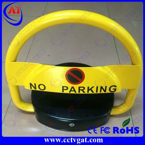 Household automatic storage battery parking barrier remoete control auto car parking lock