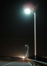 Competitive price Q235 steel pipe double arm street light pole 8m