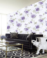 Non-woven paper wallpaper beautiful rose flower wallpaper wall wallpaper