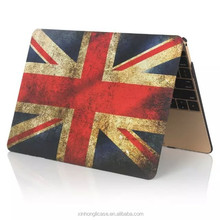 For 11 12 13 15 Inch Retro Flag Matte Case For Macbook