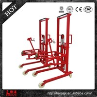 350kg High quality hydraulic hand oil drum lifter
