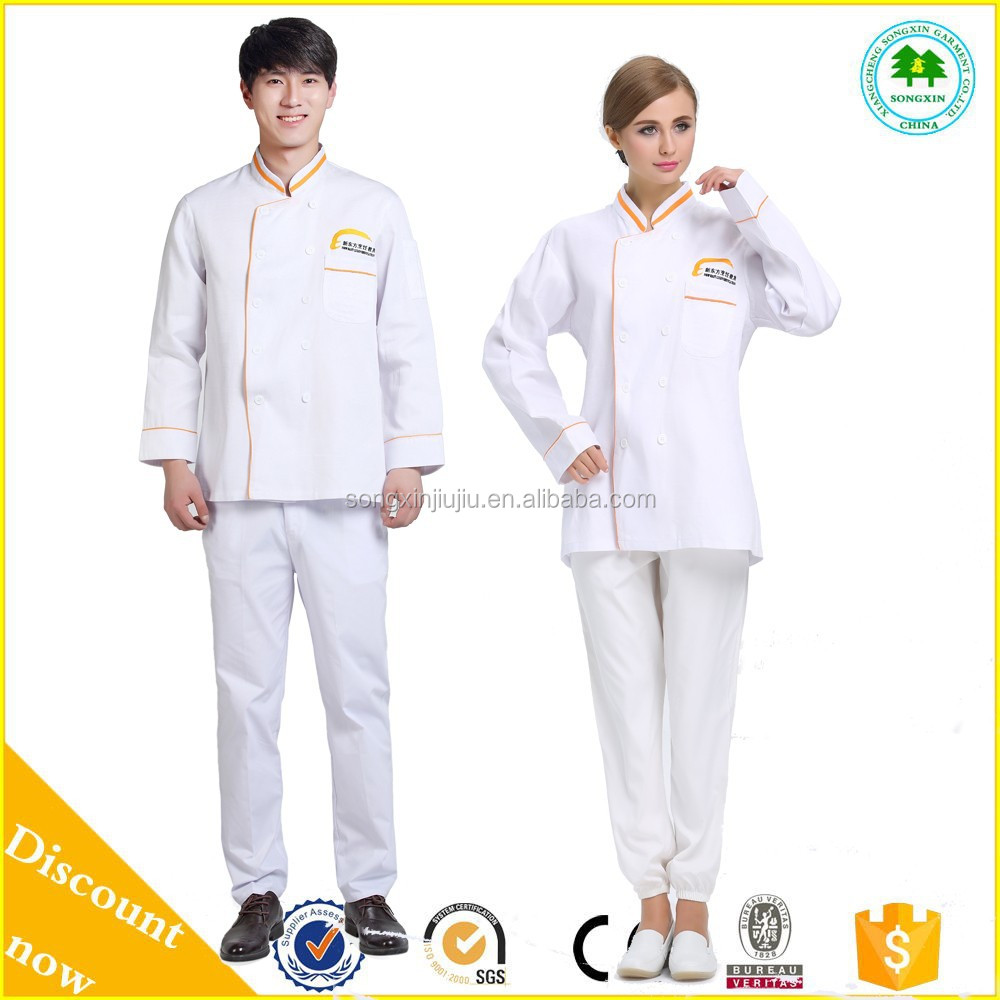 China Professional Japanese Chef Uniform/Chef Coat Uniform