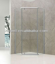 CAML Corner entry round corner customed made shower enclosure