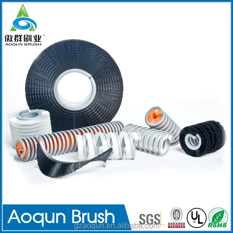 Factory Customized Roller Rotary Round Wire Brush