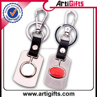 Promotion cheap metal keyrings with car logo