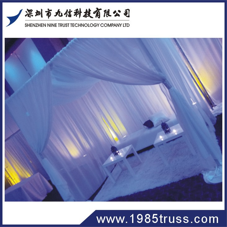 2014 Pipe and drape wedding backdrop for concert stage decoration