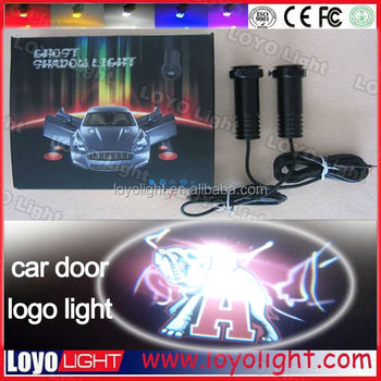 Cheap price for promotion car logos with names, car logo led projector