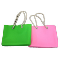 2014 wholesale fashionable silicone beach bag