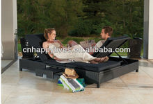 New design Outdoor furniture double beach chair HL-2054