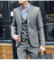 Men's trendy business suits Top fashion Slim suit for young man 2015