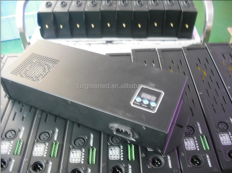 350W DMX512 Led controller / rgb dmx decoder with digital display ,easy operation,ce rohs certified