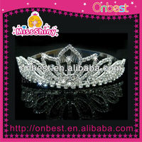 2013 Wedding Accessories Rhinestone Hair Tiaras Crowns For Beautiful Bride