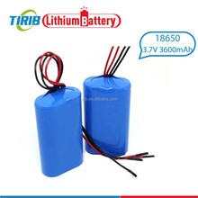 For Wheel Chair 1s2p 3.7v 3600mah Lithium ion Battery 18650 With Connectors