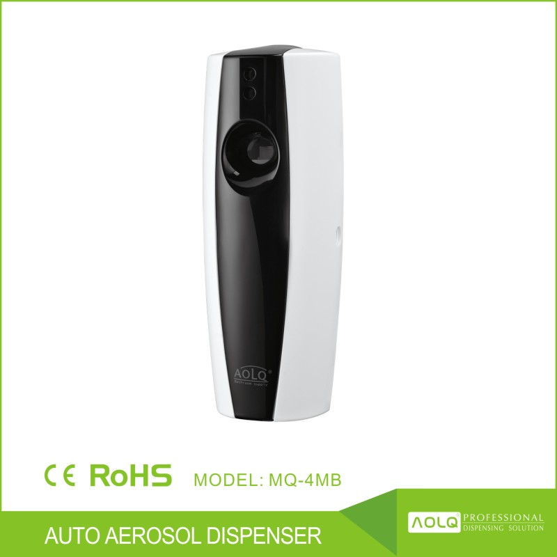 ABS Plastic Auto Spray Aerosol Dispenser, battery operated air freshener dispenser, manual air freshener dispenser
