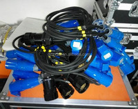 19pin socapex fan-out cable to 16A socket