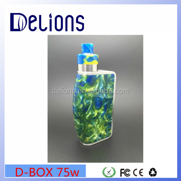2016 Delions Hottest arrival USA popular Tugboat Copper Mod V2.5/D-BOX 75W box mod in stock on factory