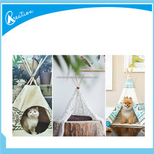 indoor luxury canvas dog cage house