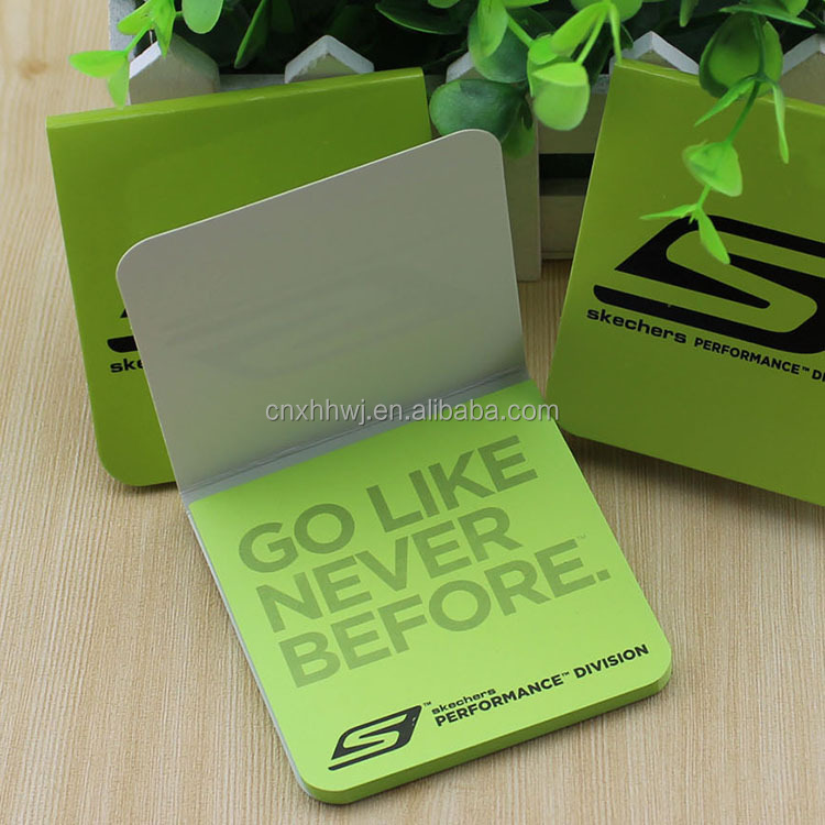 Advertising promotion recycled small notebook /sticker/sticky note/ memo pad