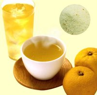 Colla Vita Yuzu Cha (instant citron drink) instant yuzu flavoring also used as for flavored milk