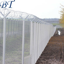 PVC Coated 358 Welded Wire Mesh Panel/358 Fence