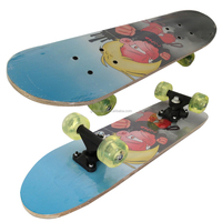 2406A-1UT5036A chinese maple wooden four wheel kid nice design mini skateboard