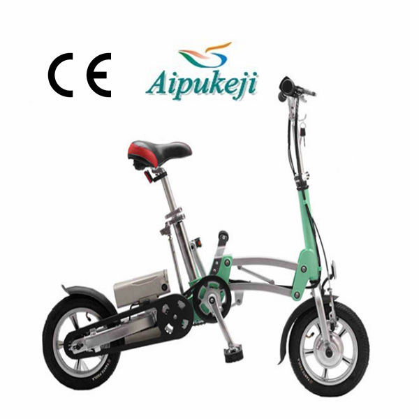 Shanghai Li-ion Battery Chainless Folding Electric Bicycle