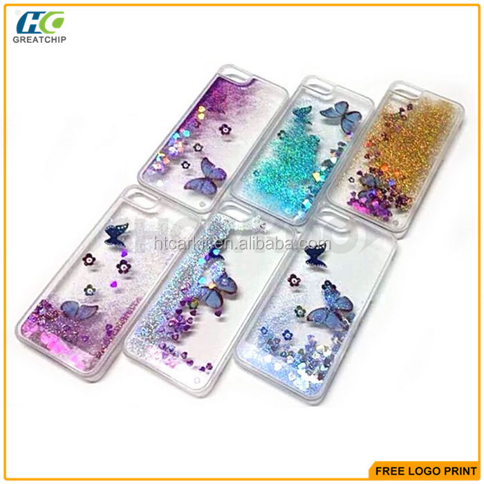 Butterfly Stand tpu case cover for iphone 6s,for iPhone 6s Woman Lady Bling Mobile Phone Case