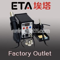 Rework soldering station Multifunction SMD/SMT hot air gun soldering iron