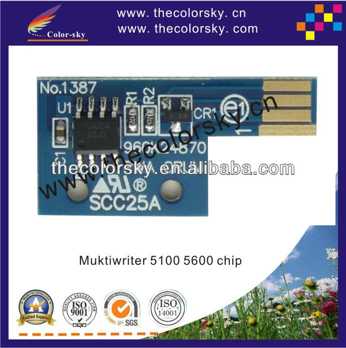 (TV-NEC5700CT) toner cartridge chip for NEC Muktiwriter PR 5700C 5750C 5700 5750 PR-L5700C PR-L5700C-24 PR-L5700C-<strong>19</strong> <strong>k</strong>/c/m/y