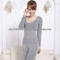Coverall for women Silver bright color long underwear and Velvet designs
