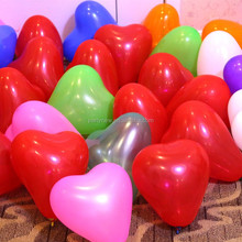 <strong>12</strong>'' Colorful Round Shape Heart Printed Latex Balloon For Wedding