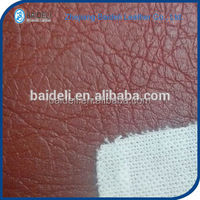 crumpled PVC and PU Leather for Seat Sofa Cover and Furniture Upholstery