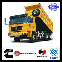 China suplliers shacman D-long F2000 6x4 dump trucks for sale in dubai