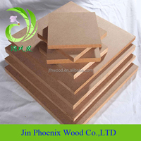 melamine mdf manufacturer supply high quality 1220*2440 timber