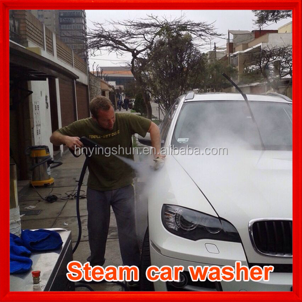2015 CE diesel 2 guns 18 bars mobile steamjet tunnel car wash systems