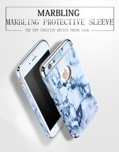 2016 Good Quality Luxury 3 in 1 Hard PC Marbling Case Cover For iPhone 5S SE 6 6S Marble checked Pattern Phone Case